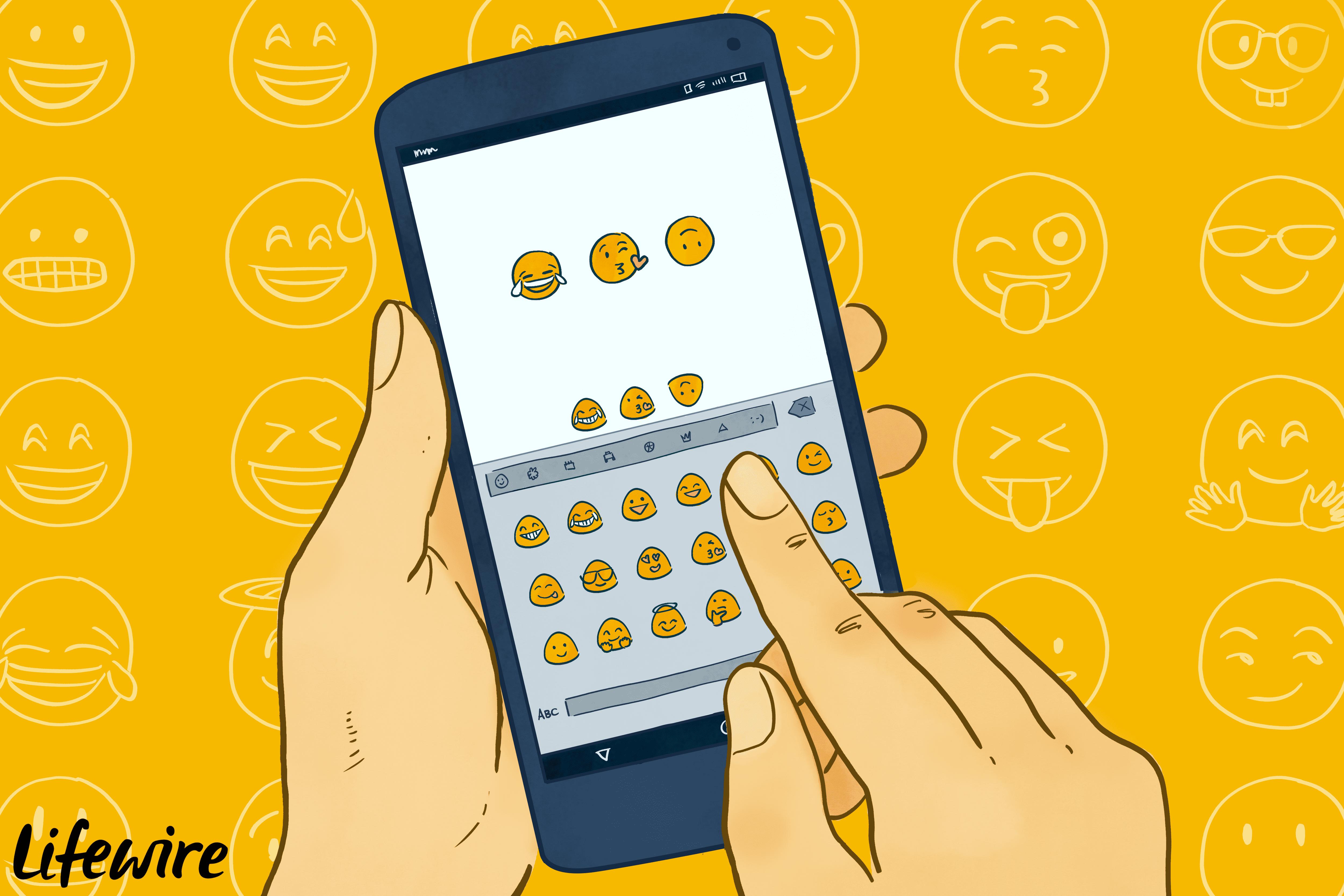 ios emojis auf android
