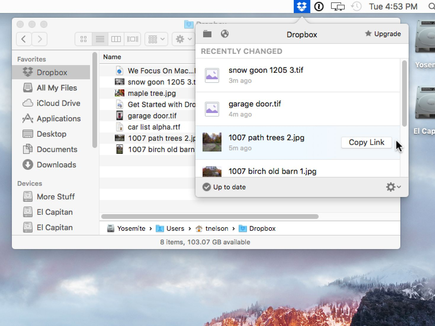 Installing and Using Dropbox on Your Mac