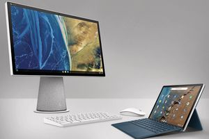 The new devices announced by HP.