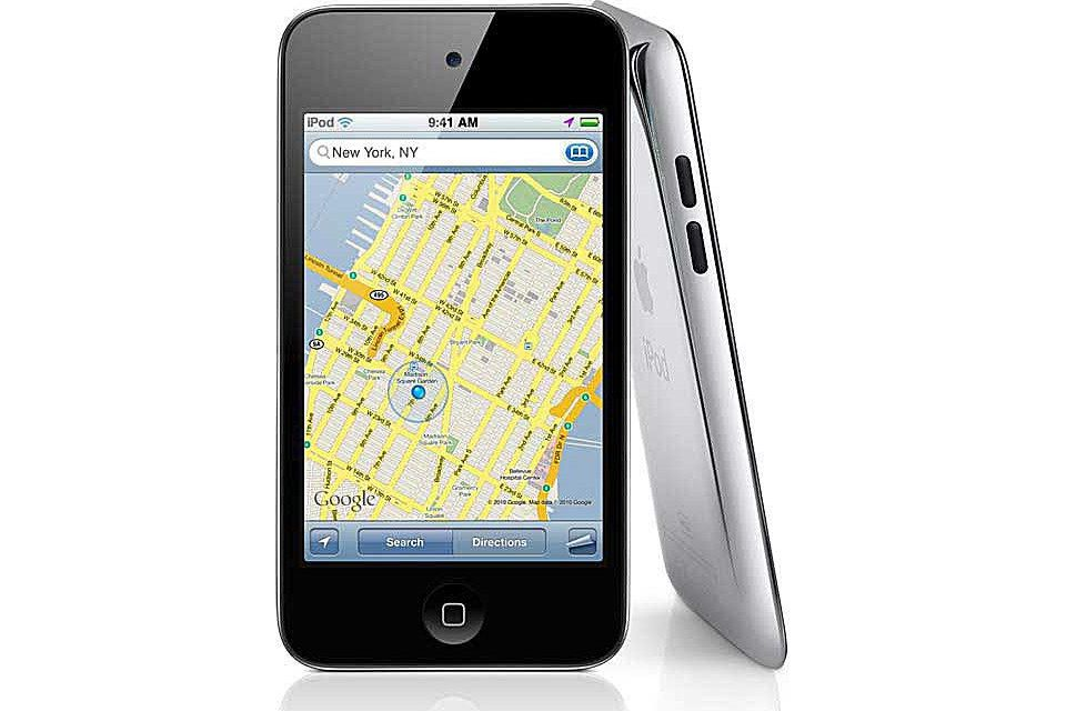 Using the iPod Touch for Navigation and Maps