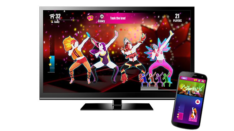 Gameplay demo of Just Dance Now