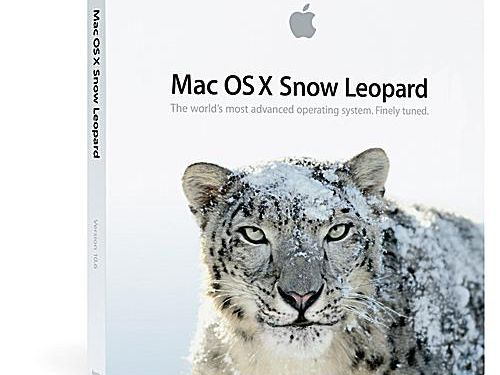 Basic Upgrade Install of Snow Leopard