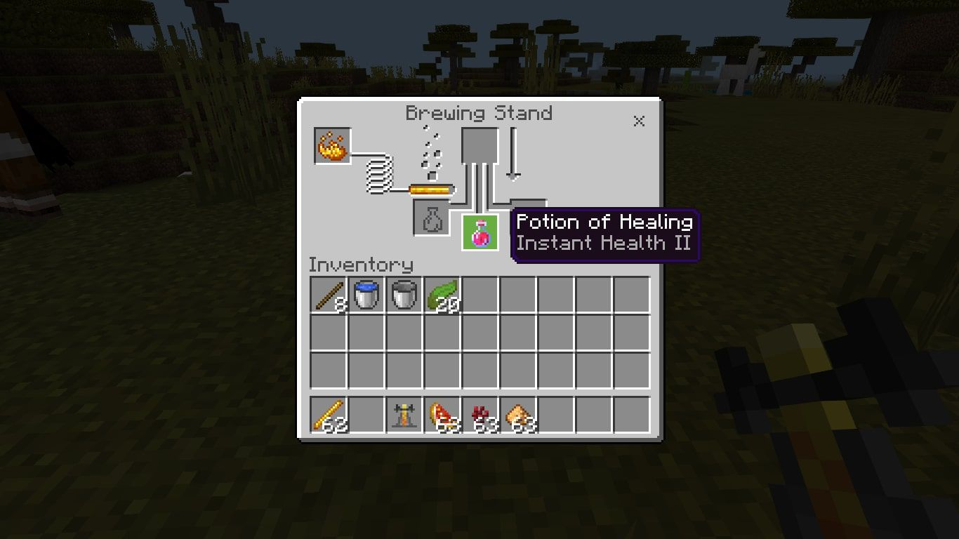 Add the Glowstone Dust to the top box in the brewing menu.