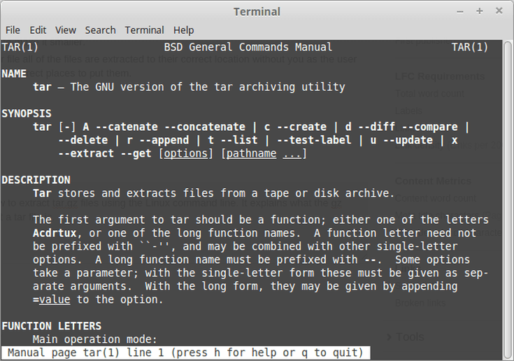 How to Extract tar gz Files in Linux