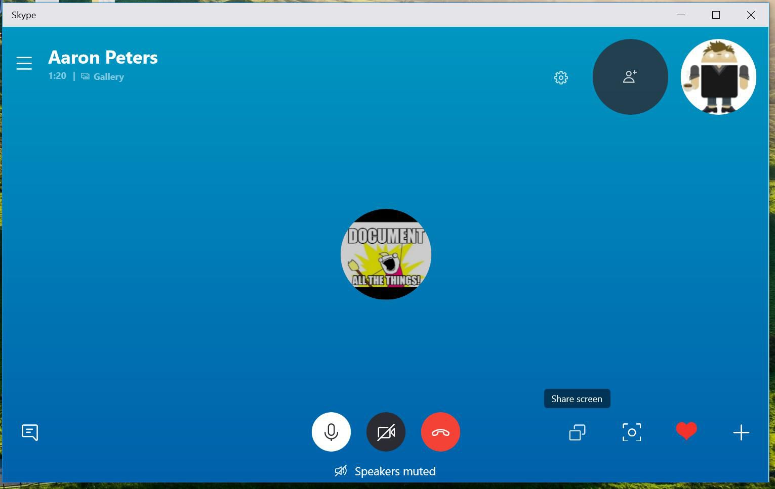 How to Share a Screen on Skype
