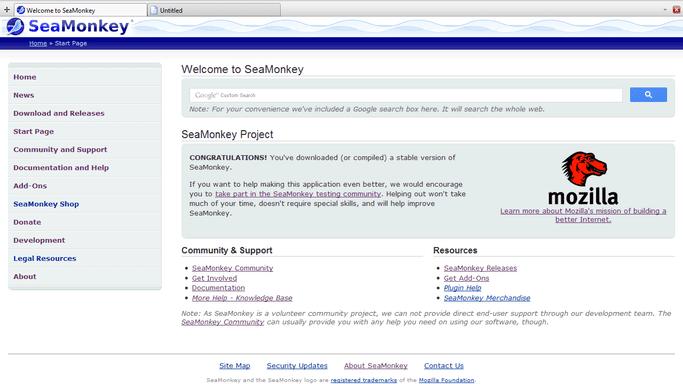 Mozilla SeaMonkey: Open Source Email Program Review