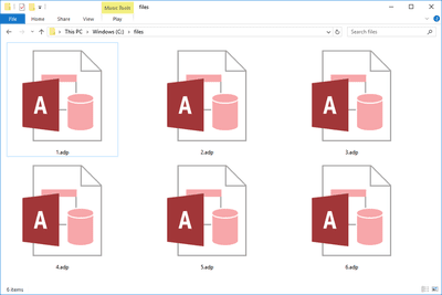 ACCDE File (What It Is and How to Open One)