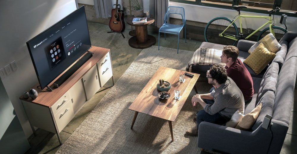 Vizio Sound Bar Lifestyle Image - Living Room