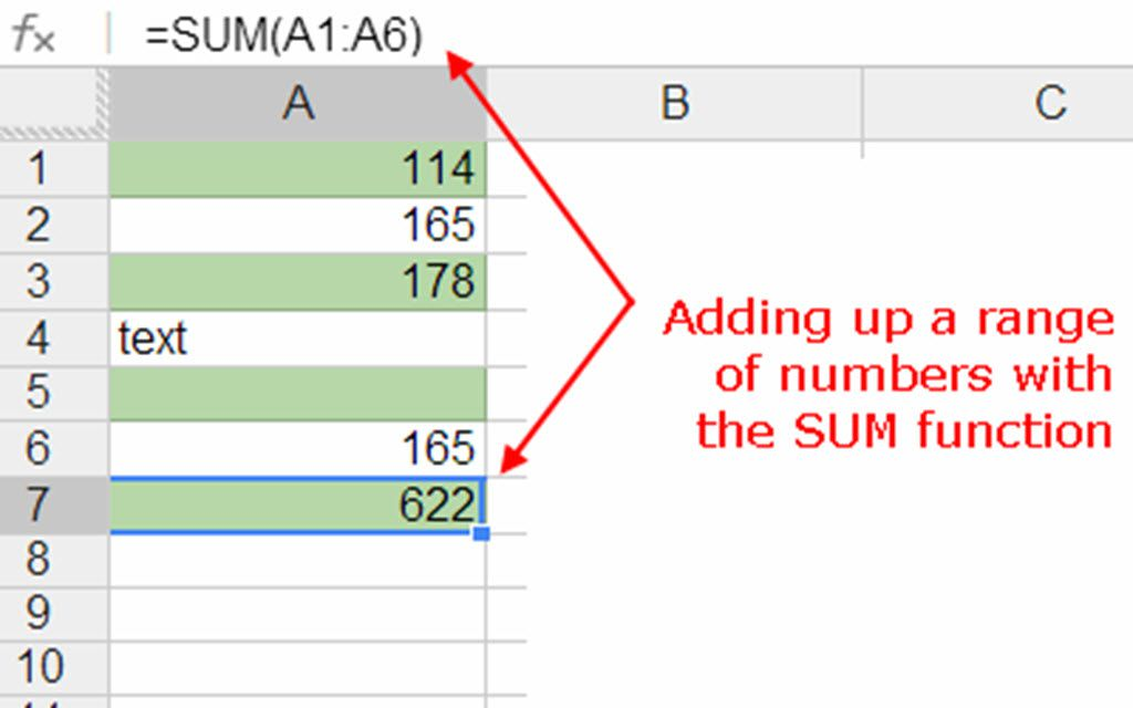 How To Sum Columns Or Rows In Google Sheets - Google docs columns