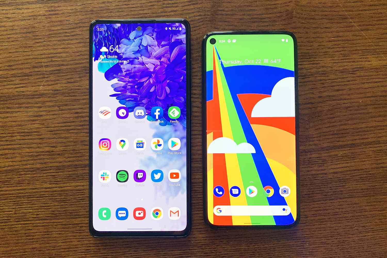 S20 FE vs. Pixel 4a 5G