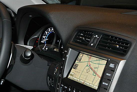 Car dash with GPS