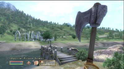 Screenshot from The Elder Scrolls IV: Oblivion