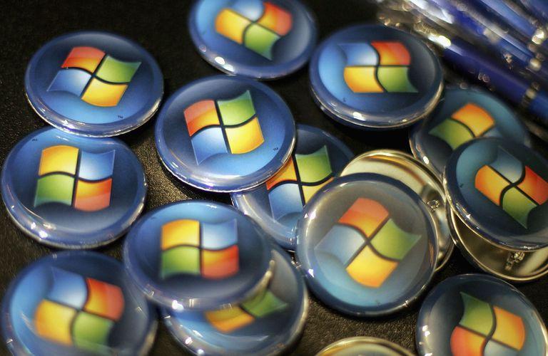 Windows buttons