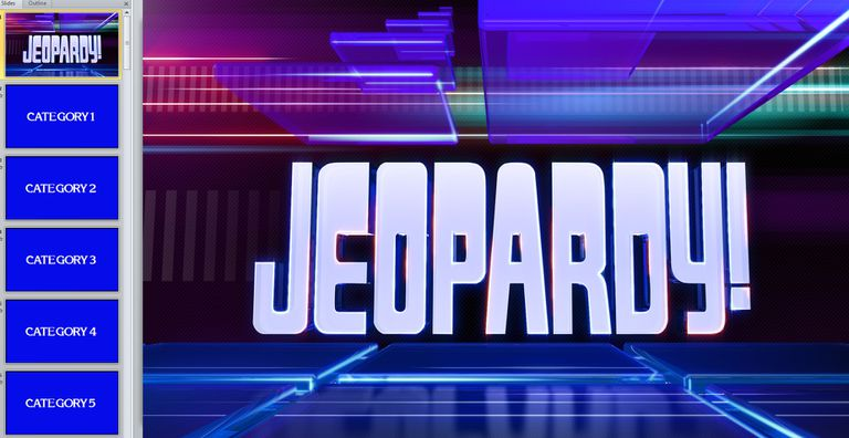 11 free jeopardy templates for the classroom editing a jeopardy game template in powerpoint toneelgroepblik Gallery