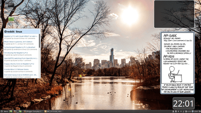 Cinnamon desktop environment on Mint