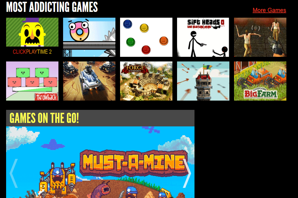 All online games for mac