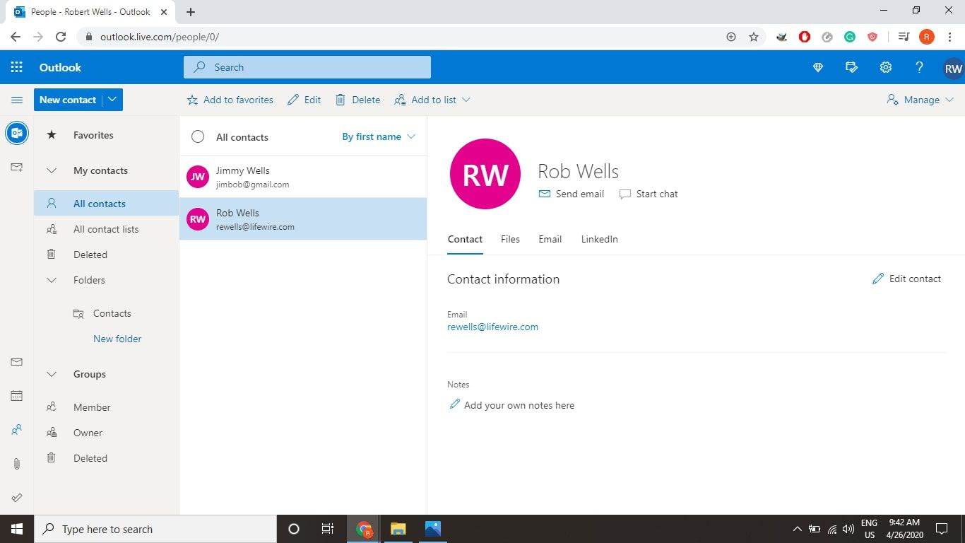 How to Add Members to a Distribution List in Outlook