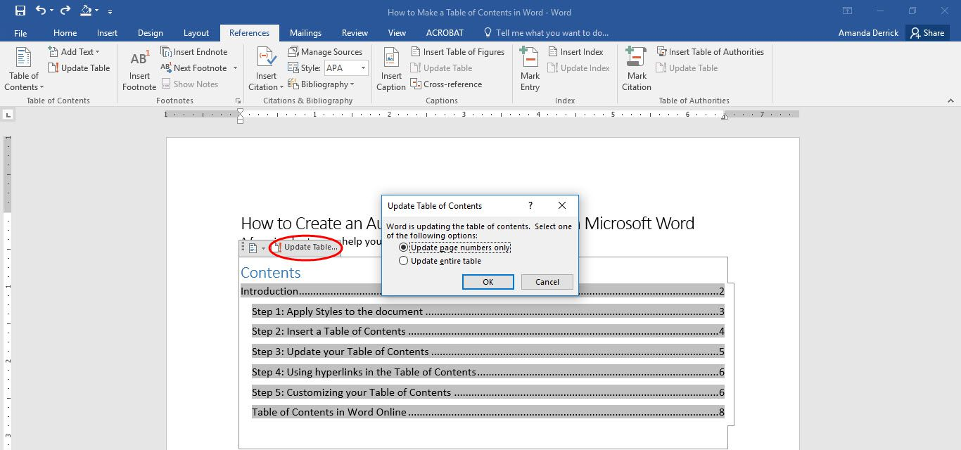 update microsoft word