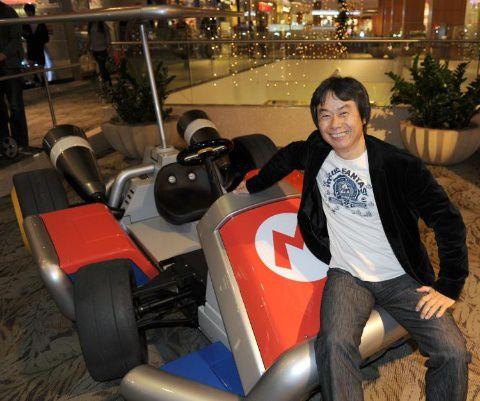 Shigeru Miyamoto Nintendo