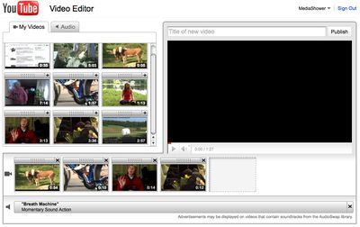 How to edit youtube videos screenshot of youtube video editor ccuart Image collections