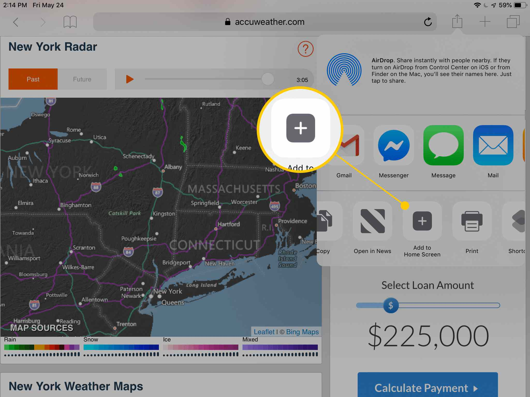 How to Add Safari Bookmarks on iPad
