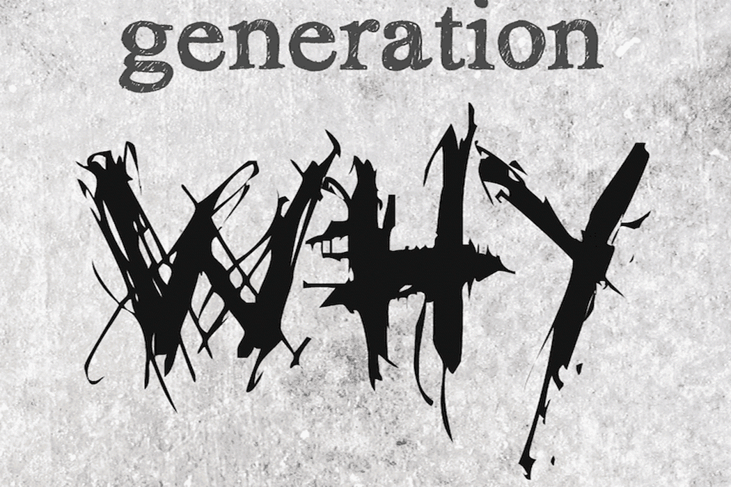 The logo from the podcast, Generation Why.