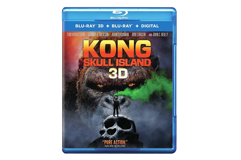 Kong Skull Island 3D Blu-ray