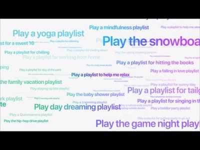 New Apple Music playlists