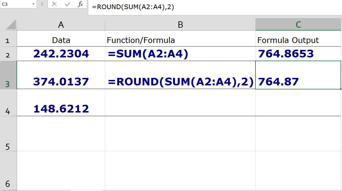 Definition, Uses and Examples of Functions in Excel