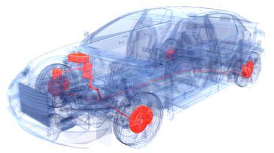 brake-by-wire schematic