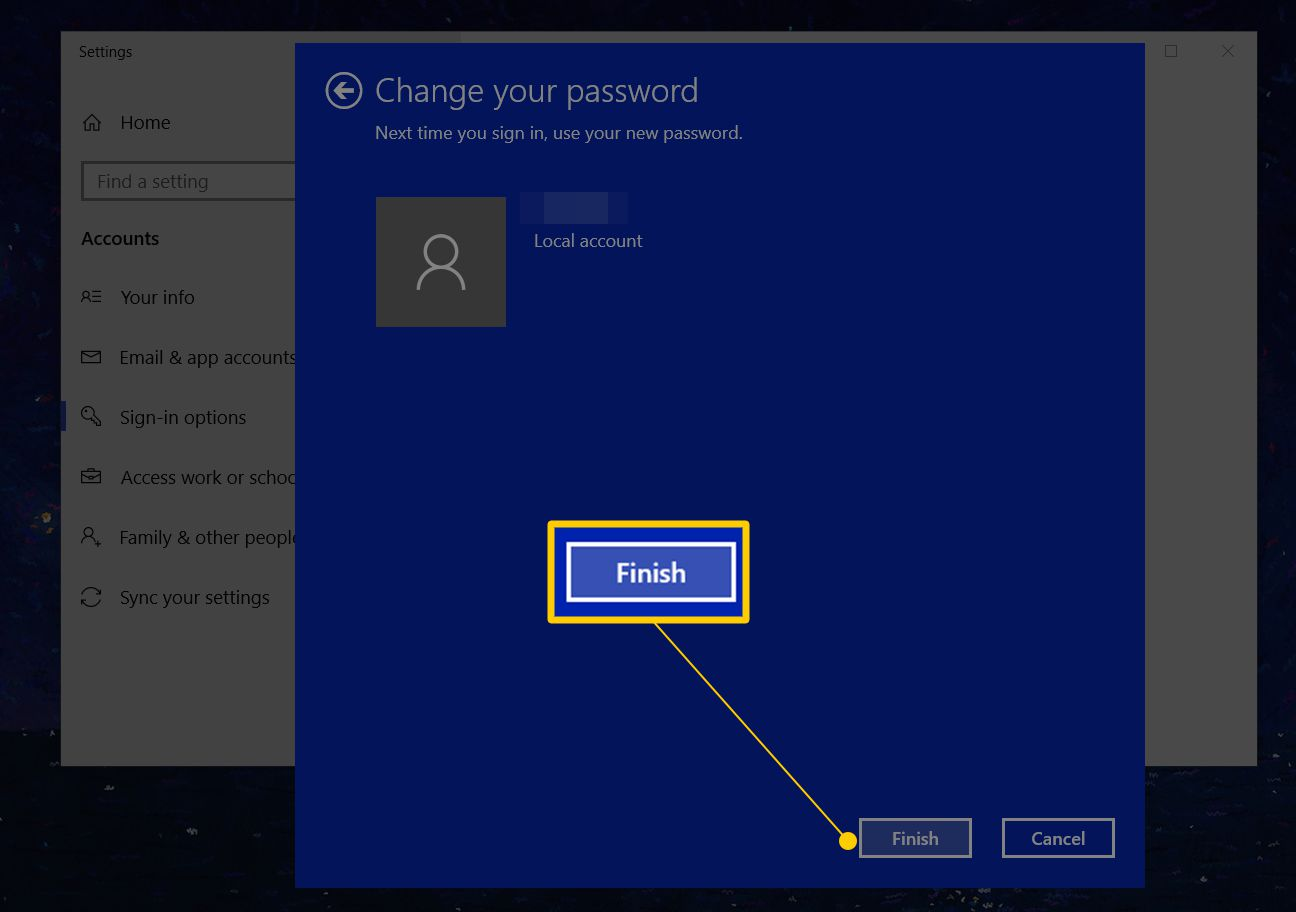 Windows 10 cant change pin   Q&A: How do I log in to Windows 10