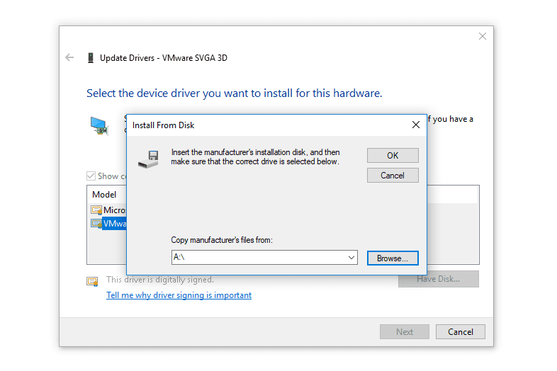 windows xp network drivers not working