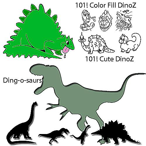 Dinosaur Dingbats