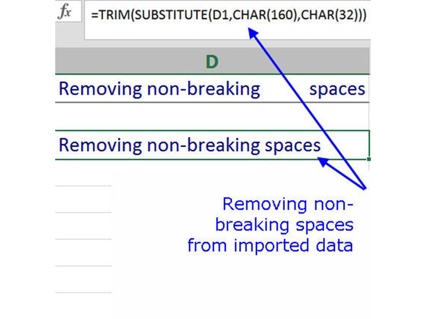 What to Do When Excel's TRIM Function Doesn't Work