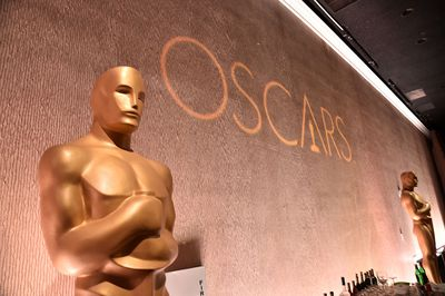 Stage shot at the Oscars