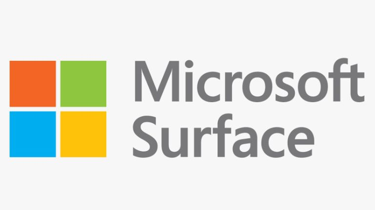 The Microsoft Surface logo.