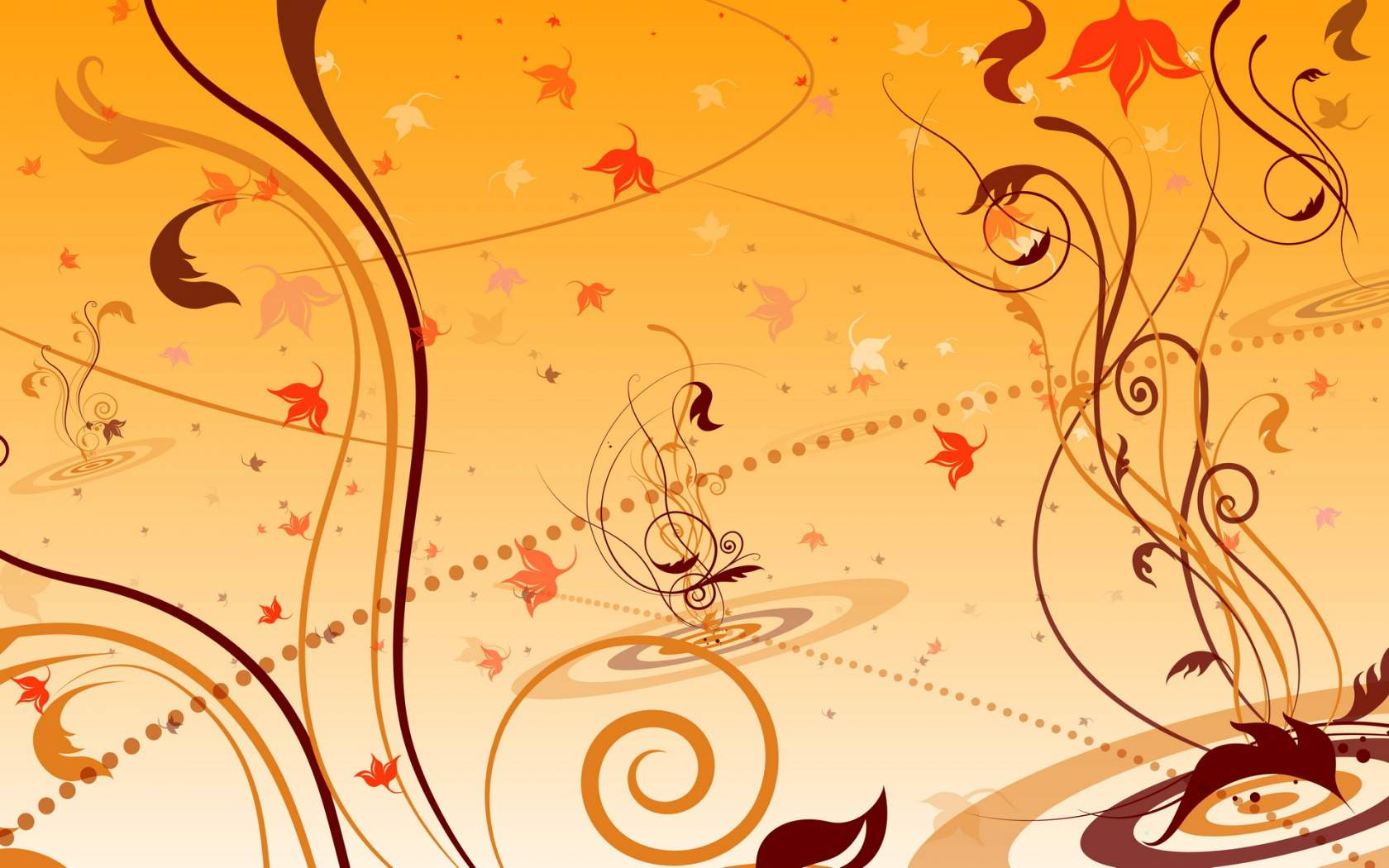 Free autumn wallpaper featuring an abstract fall image.