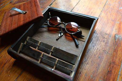 3D-printed eyeglass frames.