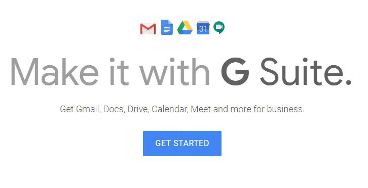 G Suite apps for business and personal use