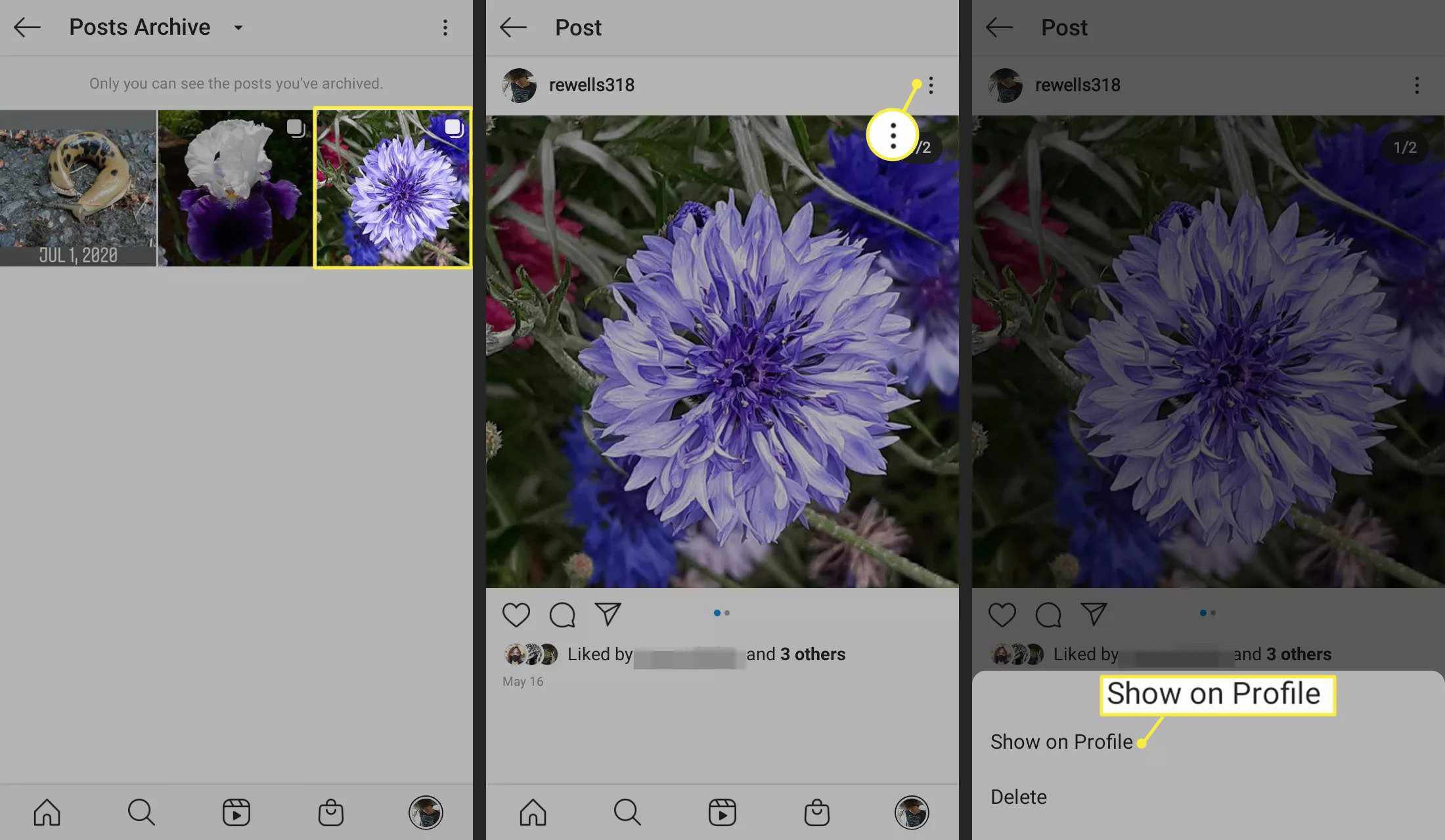 How to Make an Archived Instagram Post Public Again