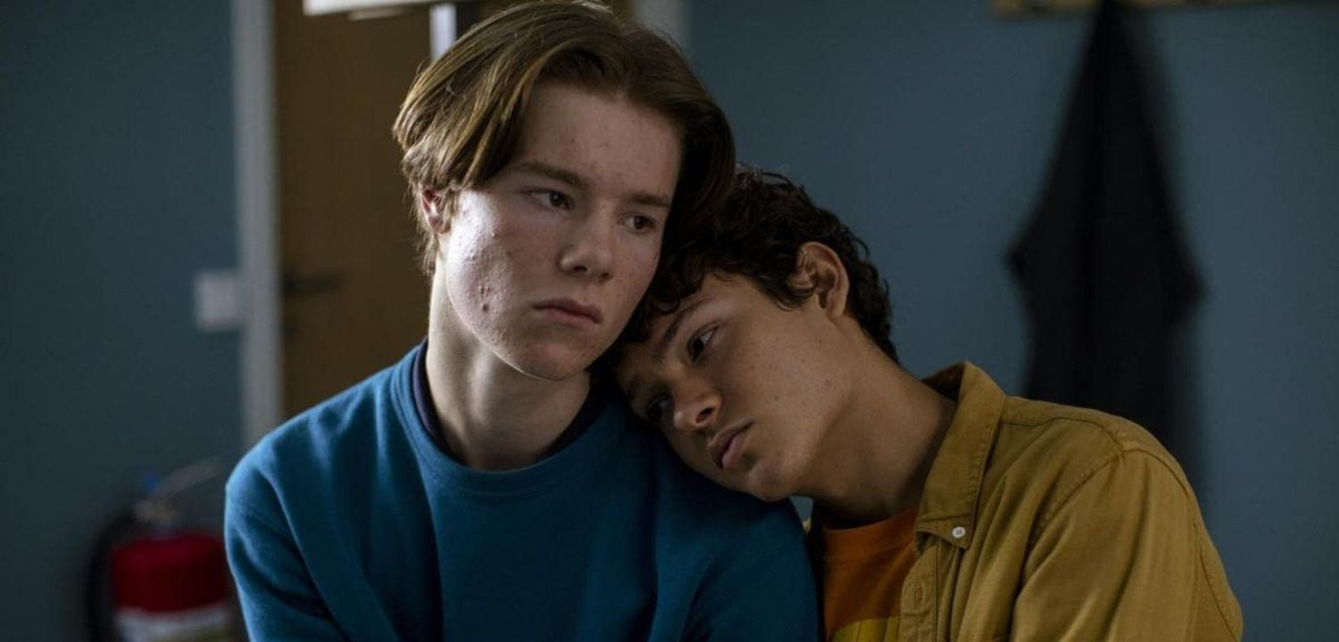 Edvin Ryding and Omar Rudberg in 'Young Royals'