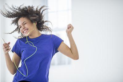 Shuffle songs on iPhone