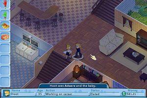 Screenshot from the Virtual Families.