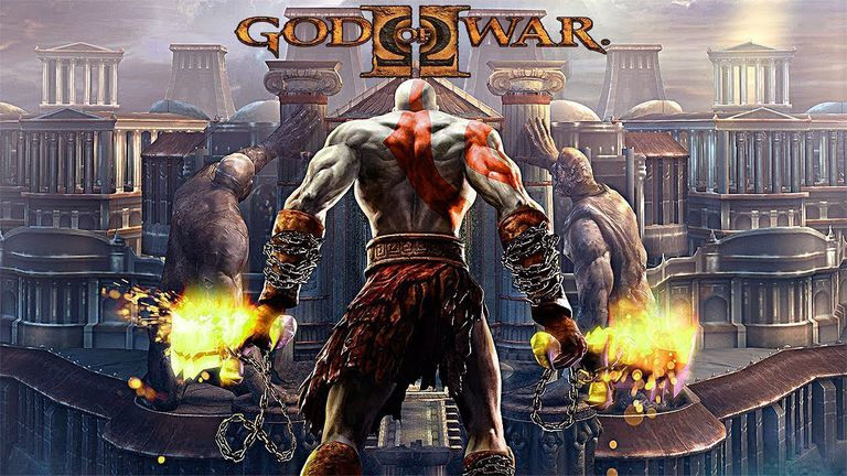 Box art for God of War 2