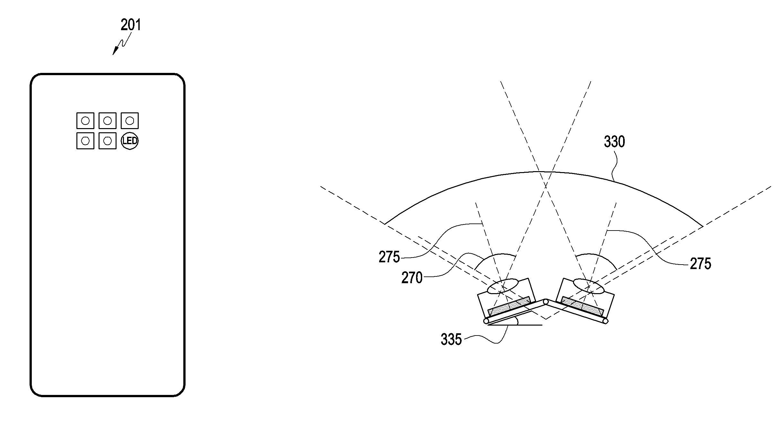 Samsung patent drawings.