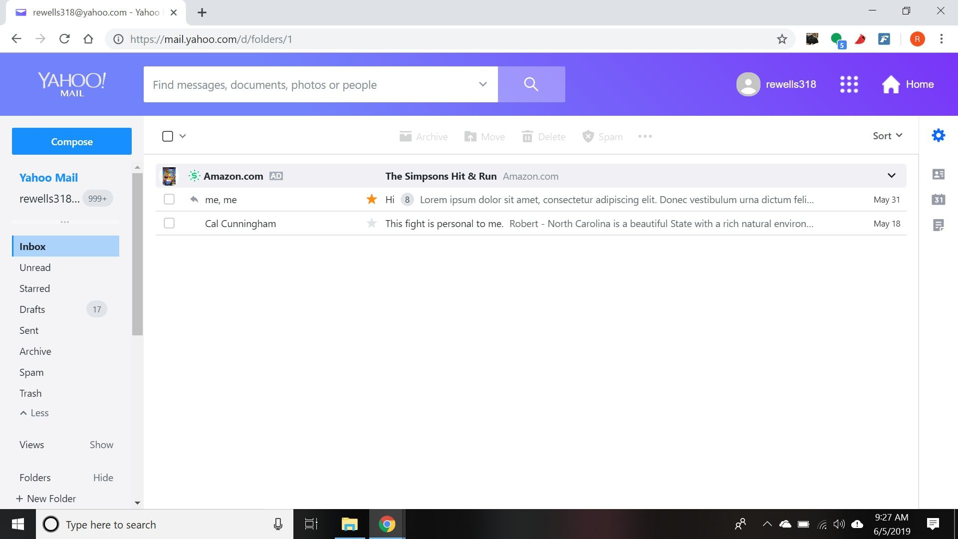 Enable or Disable Conversation View in Yahoo Mail