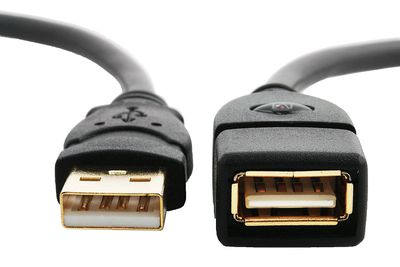 Photo of a Mediabridge USB 2.0 USB Extension Cable