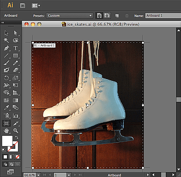 how to change artboard size in illustrator