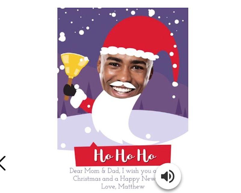 HO HO HO Christmas E-Card