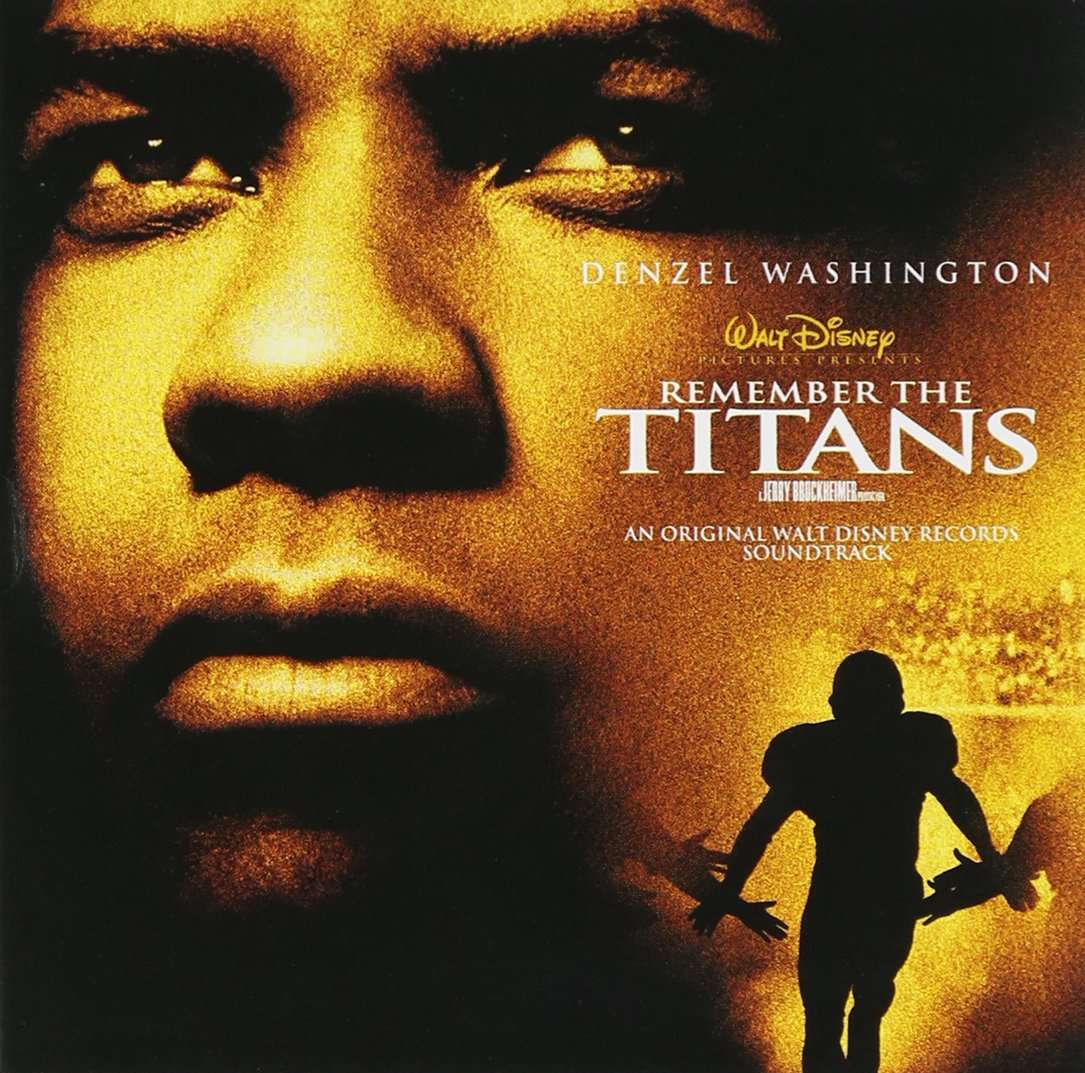 Promotional image for the film Remember the Titans